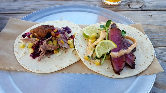 Travelers Rest, SC: Duck Cofit and Tuna Tacos