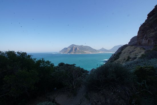 Western Cape, South Africa: Blick nach Hout Bay