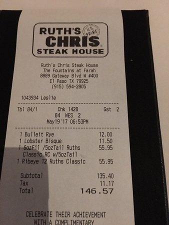 Swot analysis of ruth chris streak house