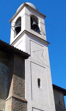 Pavia, İtalya: Campanile altra angolazione