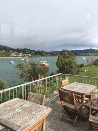 Moeraki, Nieuw-Zeeland: View from upstairs