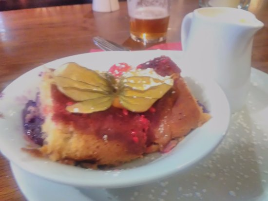 Threlkeld, UK: Dessert - very tasty