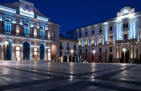 Potenza, Italy: Piazza Mario Pagano