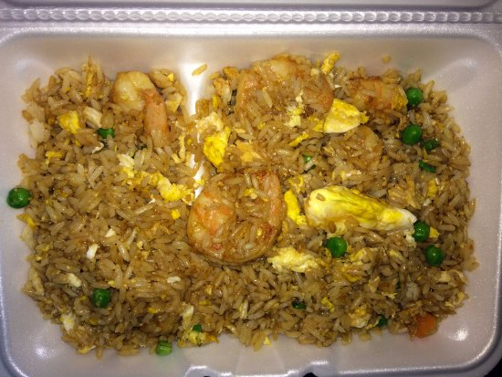 North Olmsted, OH: Shrimp Fried Rice