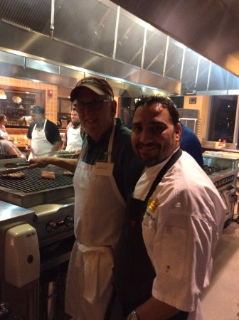 Greenwood Village, CO: Me and our chef