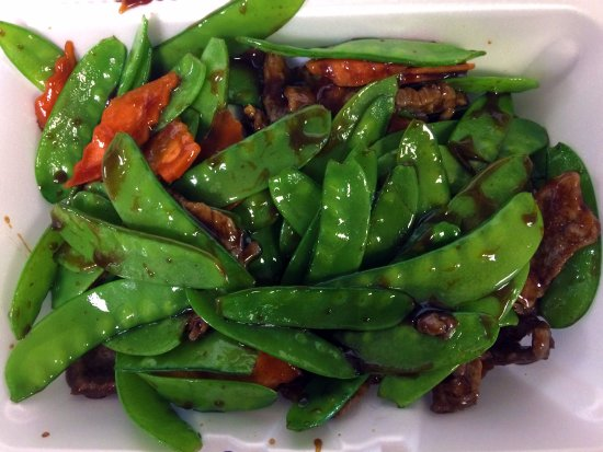 North Olmsted, OH: Beef with Snow Pea Pods