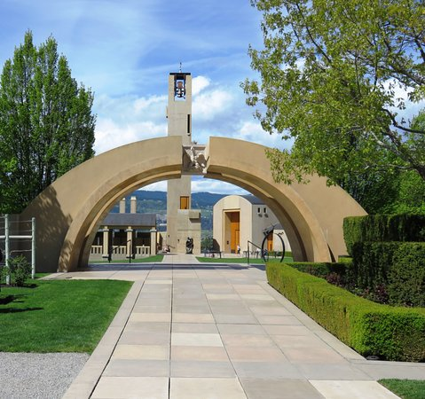 West Kelowna, Canadá: Mission Hill entrance
