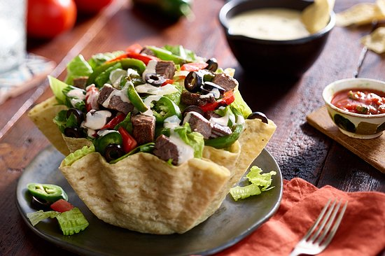 Newton Falls, OH: Taco Salads with Chicken, Steak or Beef