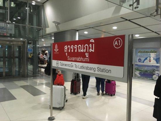 Air Rail link terminal at Suvarnabhumi Airport Bangkok - Picture of Airport  Rail Link, Bangkok - Tripadvisor