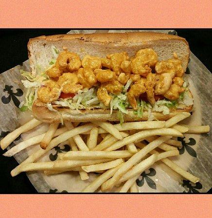 Zachary, LA: Banger Shrimp Poboy