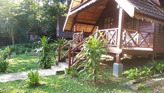 Kuala Tahan, ماليزيا: Grounds