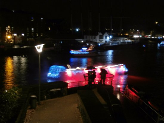 Bristol Floating Harbour: More Of Christmas Lights Great Pictures