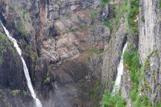 Eidfjord Municipality, Norwegia: Voringsfossen waterfalls