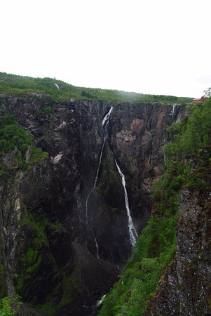 Eidfjord Municipality, Noruega: Voringsfossen waterfalls
