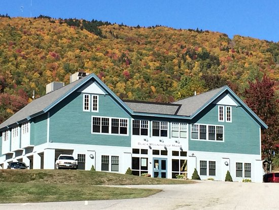 Rumford, ME: Black Mountain of Maine in the Fall