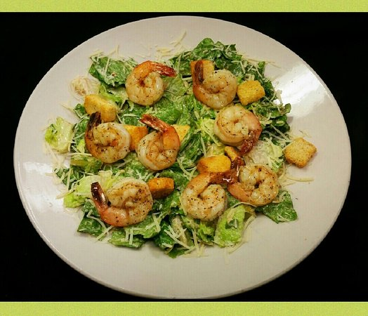 Zachary, LA: Grilled Shrimp Caesar Salad