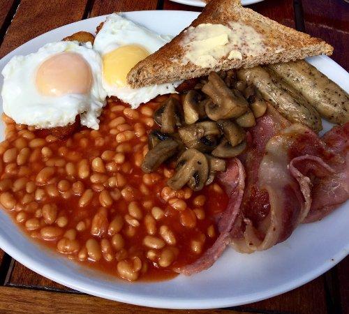 Hawkhurst, UK: The Big Breakfast - best breakfast with a view in Kent