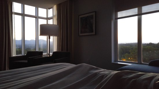 View from bed - Room 528