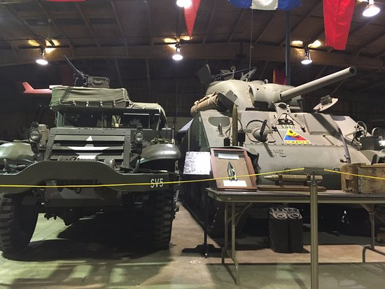 U.S. Veterans Memorial Museum : Just a few from the inside displays.