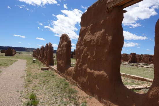 Watrous, NM: Largest collection of adobe ruins in the US
