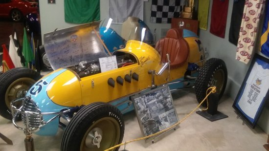 Olathe, KS: One of several sprint racers on display