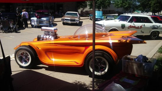Olathe, KS: Thier on sight annual car show
