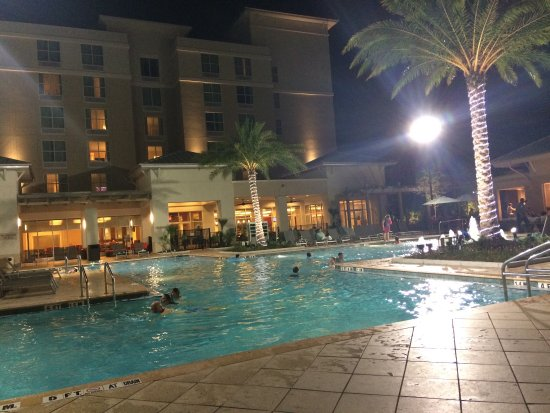 Picture Of Springhill Suites Orlando At Flamingo Crossings Western Entrance Winter