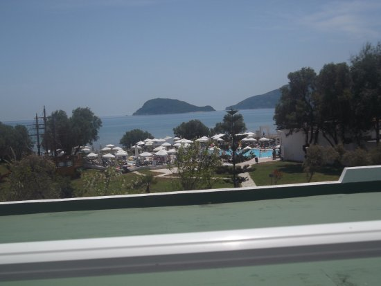 Louis Zante Beach Hotel: view from room 112