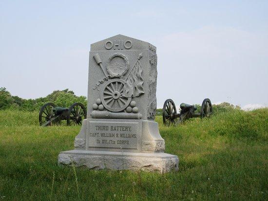 Vicksburg National Military Park: One of many Ohio monuments