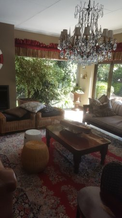 The Residence Boutique Hotel: One of the sitting rooms
