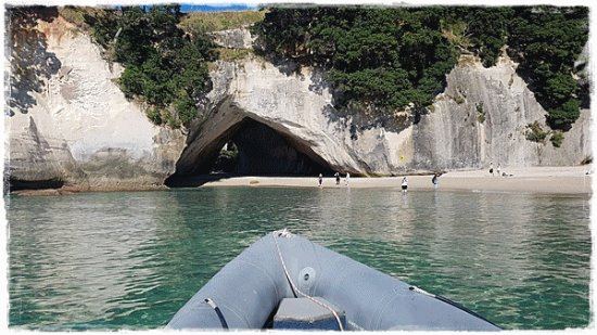 Whitianga, Nova Zelândia: Even in winter there is so much to see in the Bay.