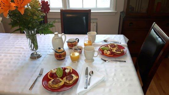Grand-Mère, Канада: Petit déjeuner