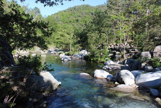 Vialas, Francia: La rivière à 20 minutes de marche
