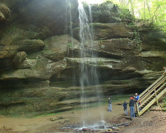 Loudonville, OH: Big Lyons Falls, Mohican State Park