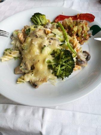 Cinfaes, Portugal: Prato vegetariano