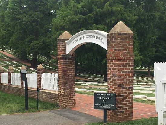 Winston Salem, Karolina Północna: God's Acre at Old Salem