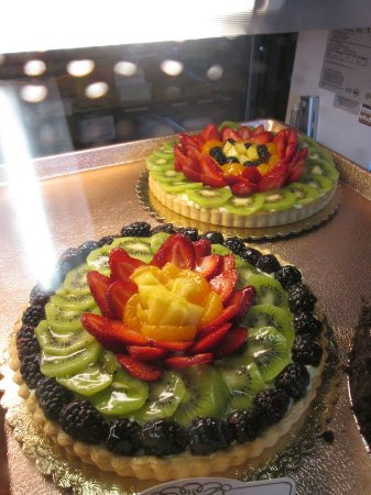 Valley Springs, CA: Attractive and Tasty Fruit Tarts