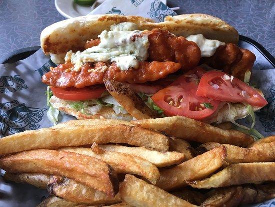 Amherst, NY: Buffalo Chicken Sandwich