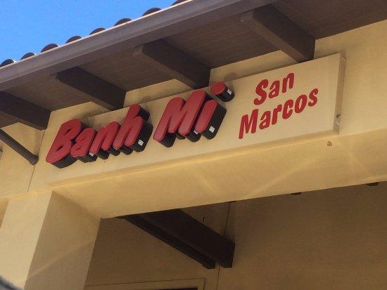 San Marcos, كاليفورنيا: Banh Mi