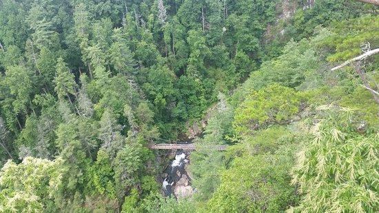 Tallulah Falls, GA: overlook
