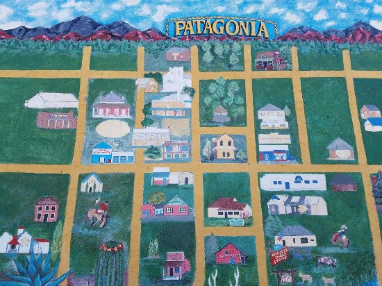 Stage Stop Inn: Mural in Patagonia