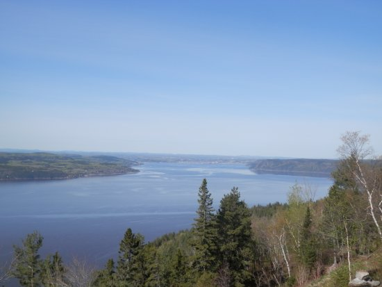 Sainte-Rose-du-Nord, Canadá: Vue de notre chambre
