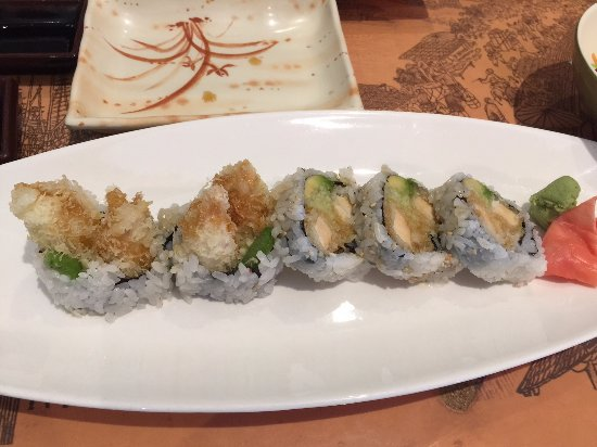 Салем, Нью-Гэмпшир: chicken tempura roll