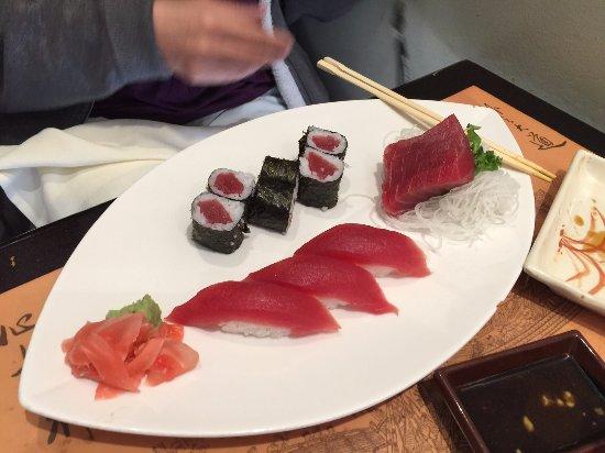 Салем, Нью-Гэмпшир: tuna platter