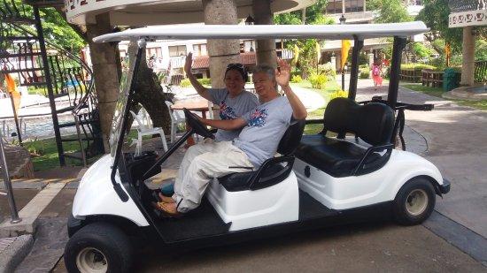 Sol Y Viento Mountain Hot Springs Resort: Golf Cart