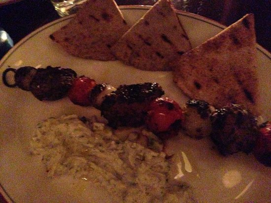 Watertown, MA: lamb skewer