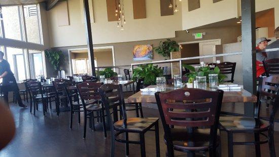 Cliffside Restaurant: View Inside