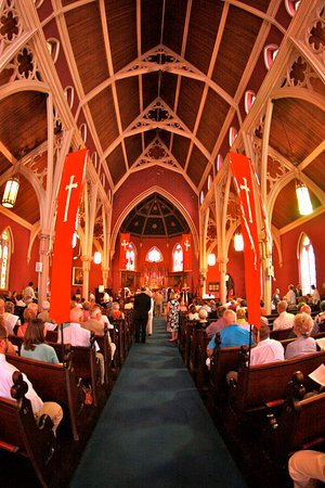 Bath, NY: Interior of St Thomas Episcopal Church