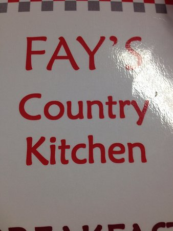 Fay's Country Kitchen: photo0.jpg