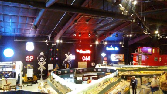 Greeley, CO: This is only one section of the entire model railroad museum.